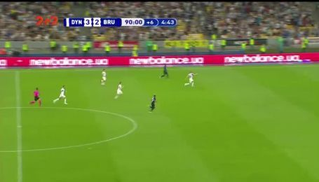Динамо - Брюгге - 3:3. Видео гола Опенды