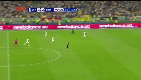 Динамо - Брюгге - 3:3. Відео голу Опенди
