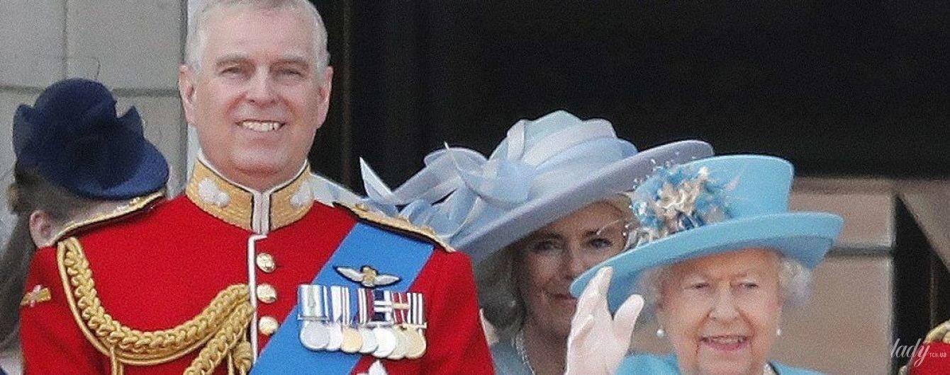 Сын королевы Елизаветы II - принц Эндрю Йоркский - попал в секс-скандал