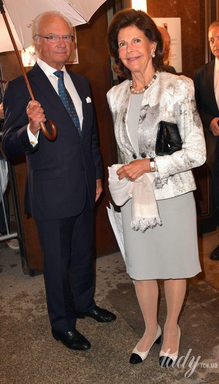 Королева Сільвія і король Карл Густав