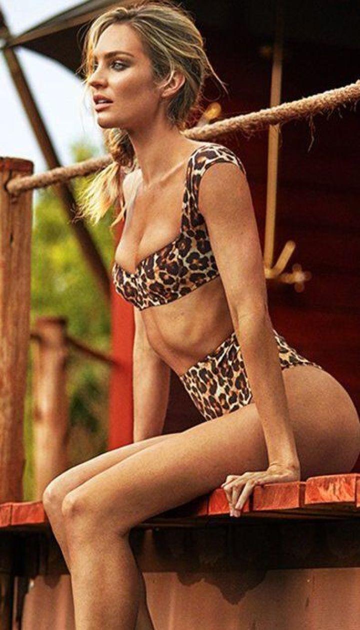 Кэндис Свэйнпоул в рекламной кампании Tropic of C