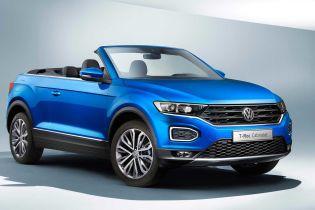 Volkswagen выпустил кабриолет на базе кроссовера T-Roc