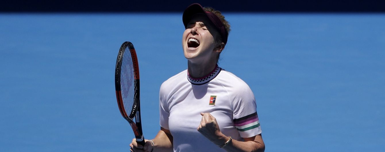 Свитолина успешно стартовала на турнире в Цинциннати