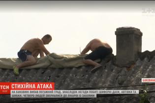 """""""Такого еще не видела за 60 лет, что живу"""". Мощная непогода на Буковине наделала беды"""