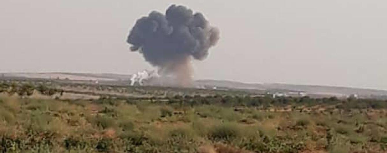 В Сирии сбили самолет сил президента башара Асада, которых поддерживает РФ