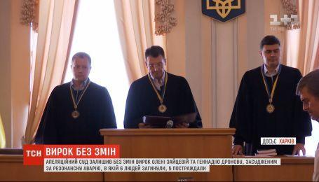 Апелляционный суд оставил без изменений приговор Елене Зайцевой и Геннадию Дронову