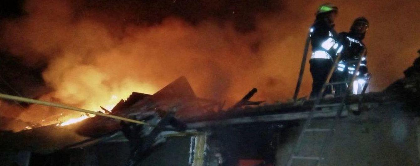 У селі на Тернопільщині згоріла школа