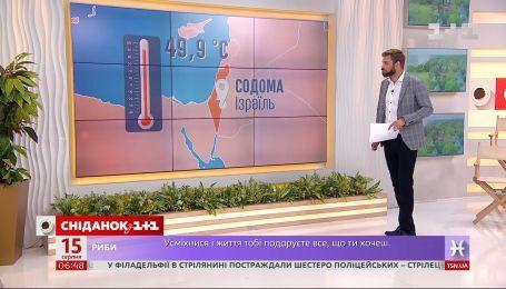 """У чому причина аномальної спеки в Україні та світі - влог """"Сніданку"""""""