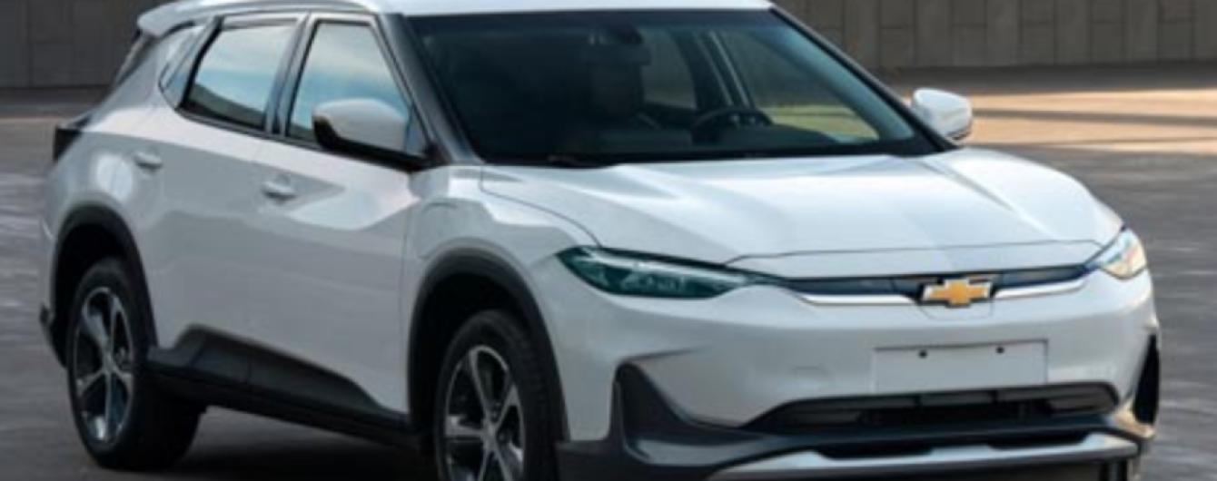 Електричний кросовер Chevrolet Menlo показали на знімках