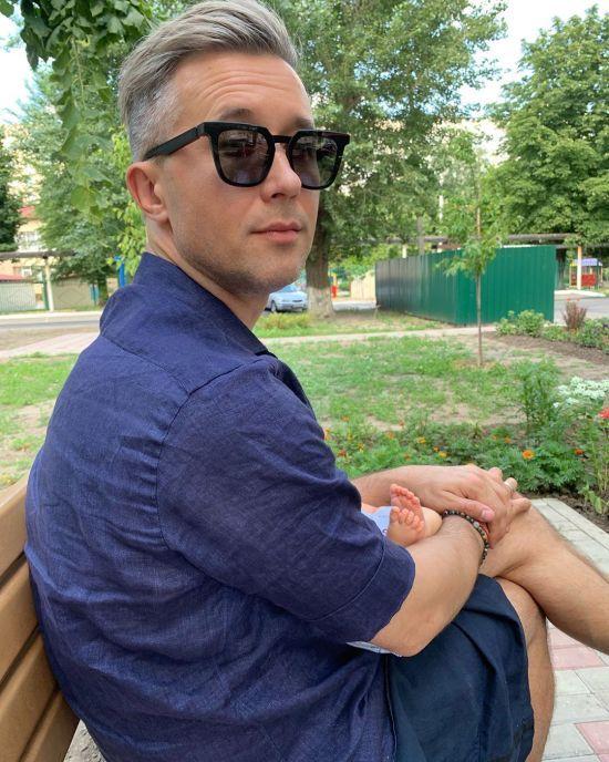 Сергій Бабкін замилував знімком з півторамісячним сином