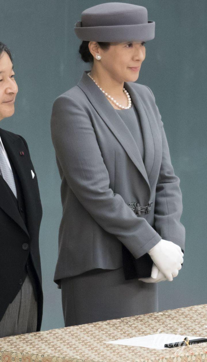 Император Японии Нарухито и императрица Масако