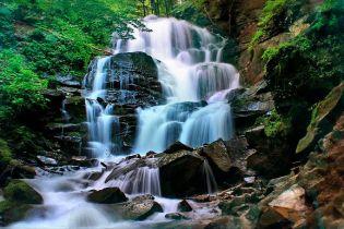 Водопад Шипот — самый большой в Карпатах