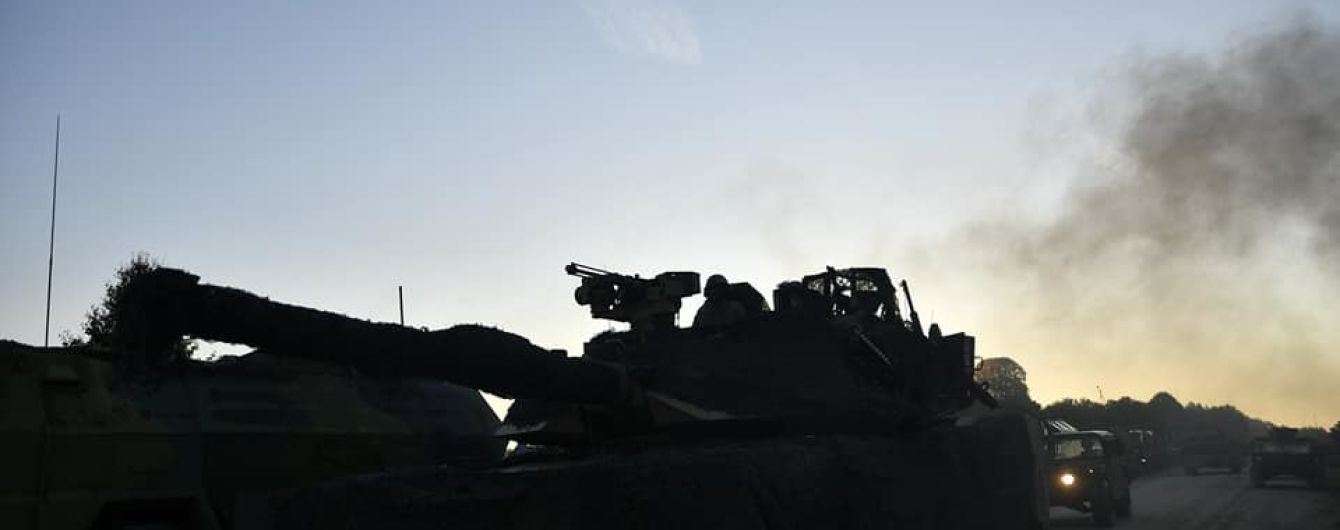 Двое бойцов погибли во время учений в районе ООС