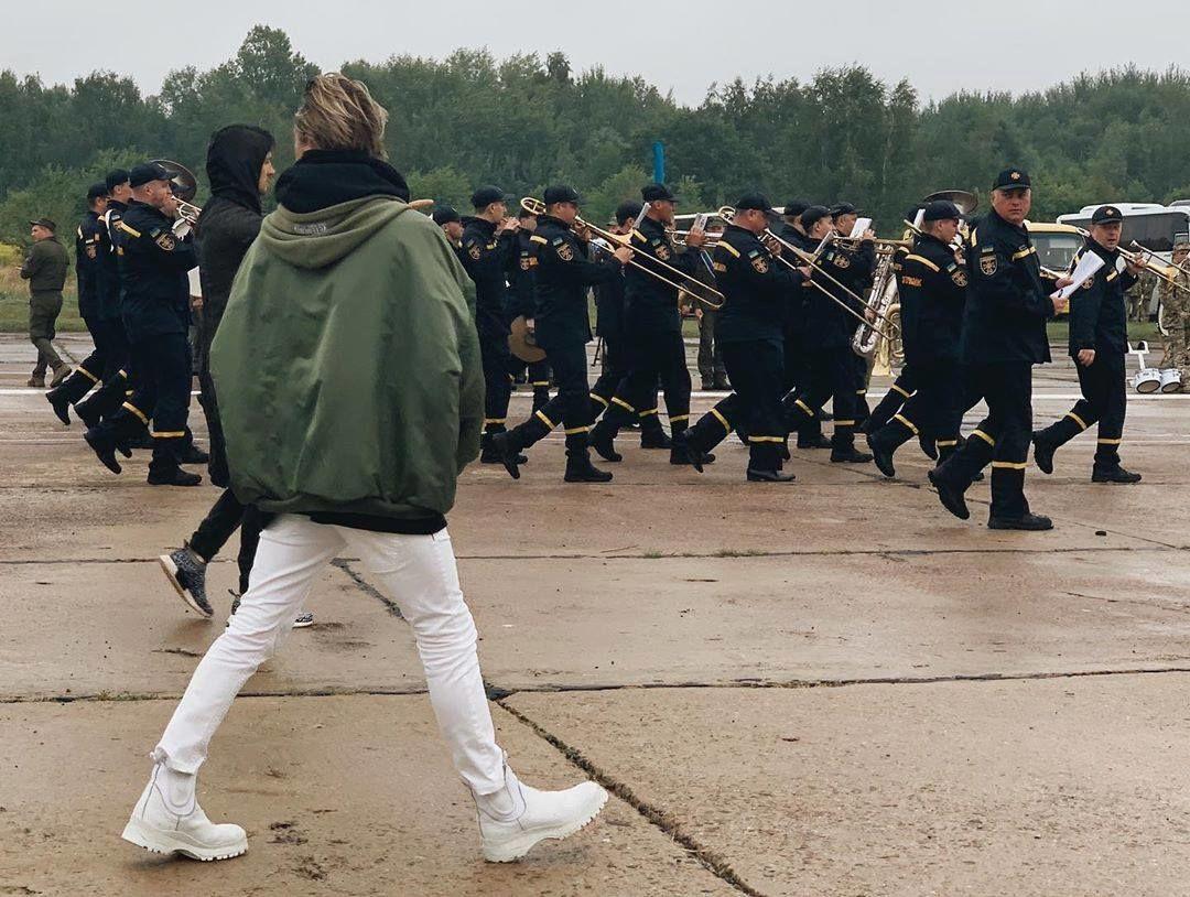 Алан Бадоєв, репетиція ходу до Дня Незалежності_3