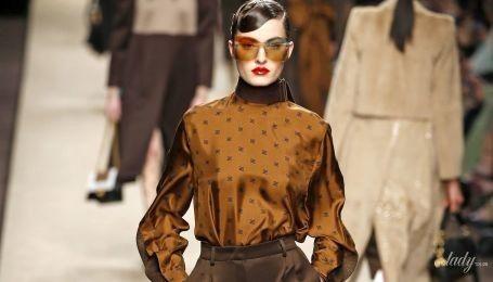 Бежево-коричневая осень: тенденции моды сезона осень-зима 2019-2020