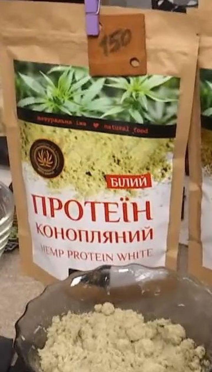Виробники продукції з промислових конопель з'їхалися в село Сад на фестиваль коноплярства