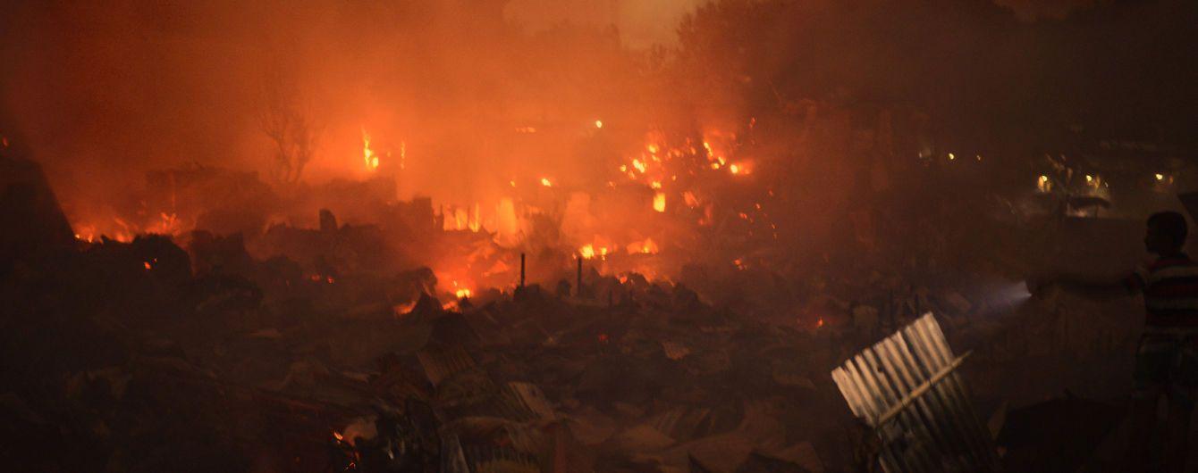 Грандіозна пожежа в Бангладеш знищила 15 тисяч будинків