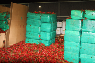 Мексиканець віз до США перець, в якому зумів сховати 4 тонни наркотиків