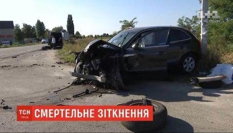 На Київщині в аварії загинули батько і його 7-річна донька