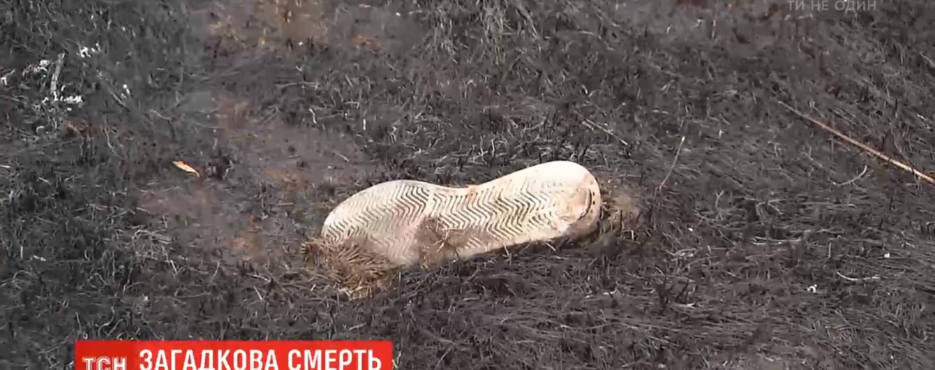 На Киевщине в садовом товариществе во время пожара погиб пенсионер. Родственники считают смерть не случайной
