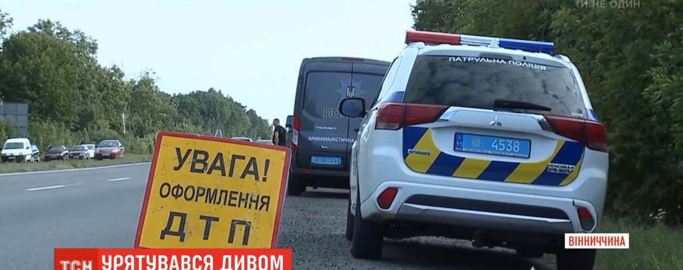 Смертельна ДТП на Вінниччині: дитина самостійно вибралася з понівеченого авто і дісталася додому