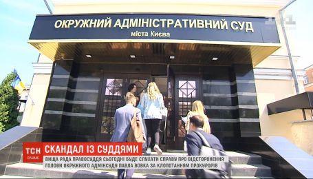 Ходатайство ГПУ об отстранении председателя Окружного админсуда Киева рассмотрит Высший совет правосудия