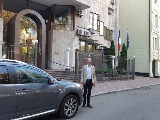 До України прибув новий посол Франції