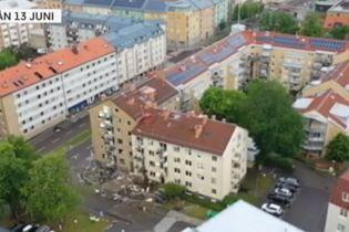У Швеції потужний вибух зруйнував склад поліції