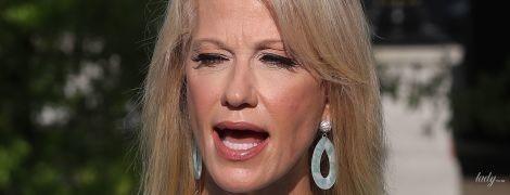 В голубом платье и с насыщенным макияжем: советница президента США на утреннем шоу