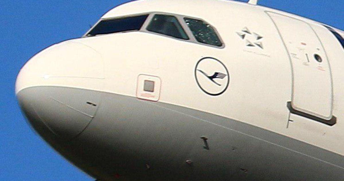 Рейс Lufthansa екстрено сів у Санкт-Петербурзі