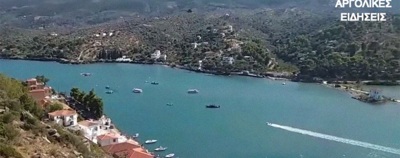 Катастрофа вертолета в Греции: водолазы нашли тела пилота и пассажиров-россиян
