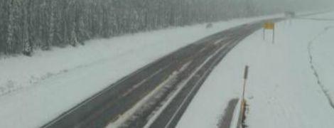 В Канаде из-за сильного снегопада пришлось вывести спецтехнику