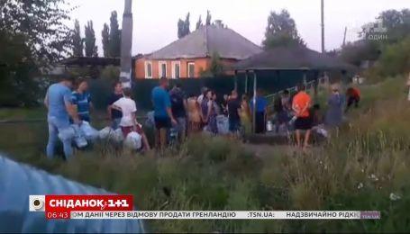 Лисичанск снова без воды из-за долгов - прямое включение из города