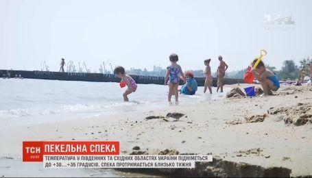 Високі температури повернулися в усі регіони України і протримаються тиждень