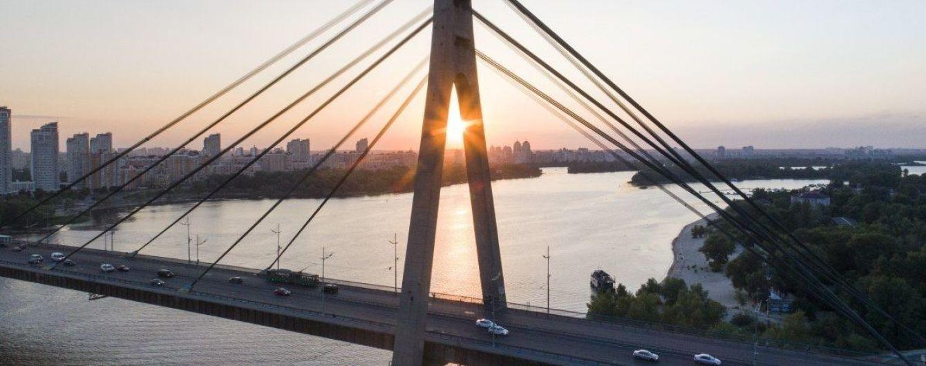 На столичному Північному мості обмежать рух транспорту