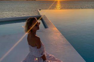 На отдыхе: принцесса Мария-Олимпия поделилась пляжным снимком