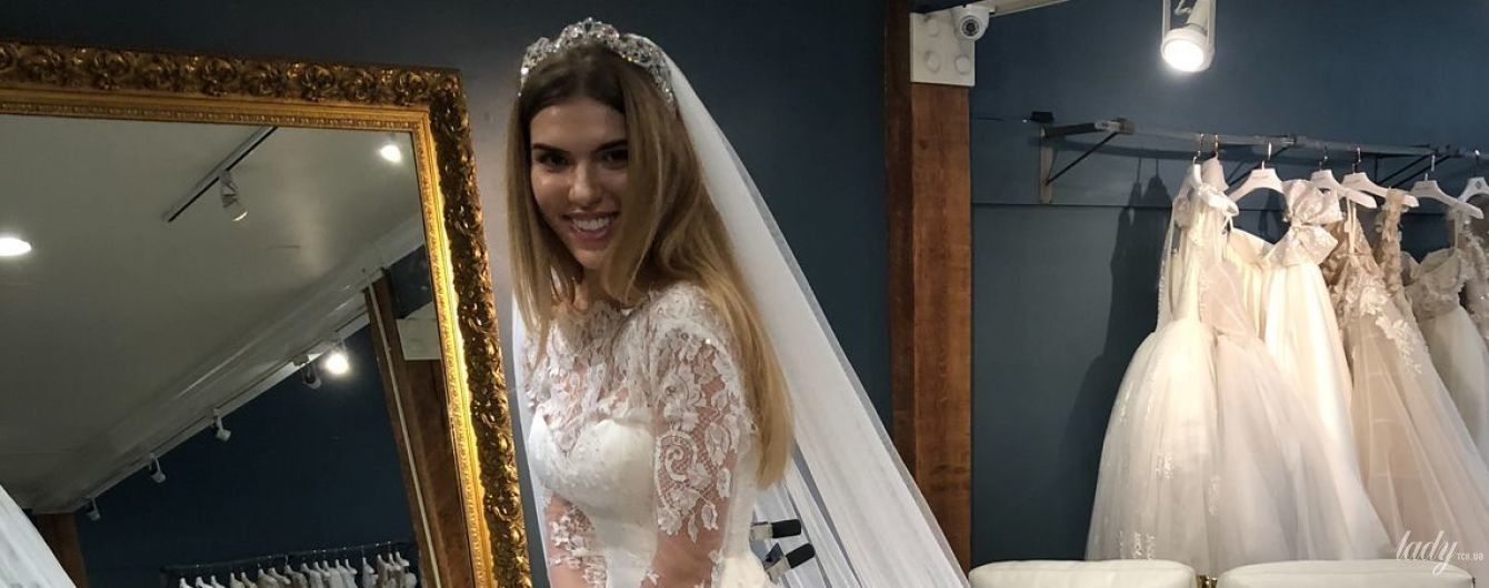 Месяц до свадьбы: экс-Ассоль Катя Гуменюк показала фото свадебных платьев