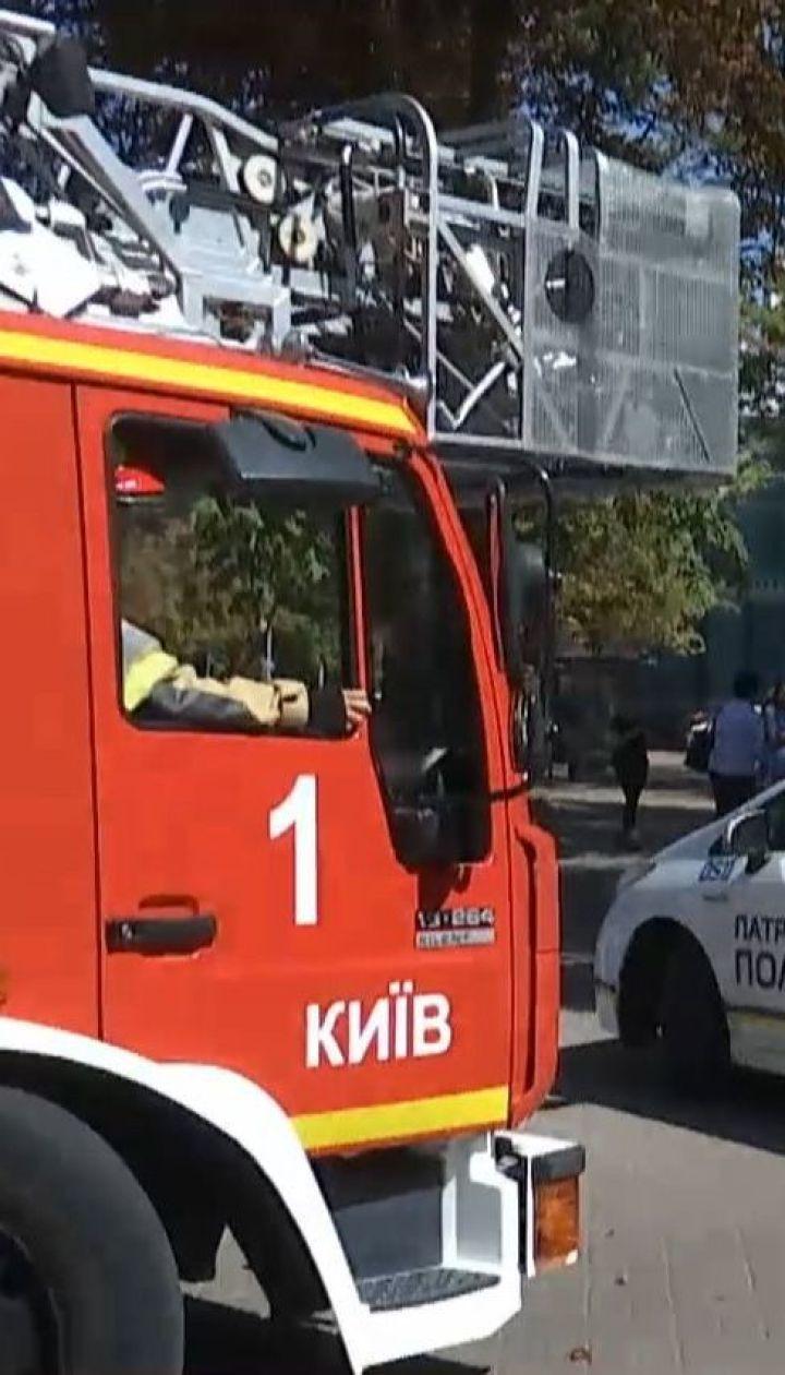 Рятувальники гасили умовну пожежу у Печерській РДА – ТСН помітила грубе порушення