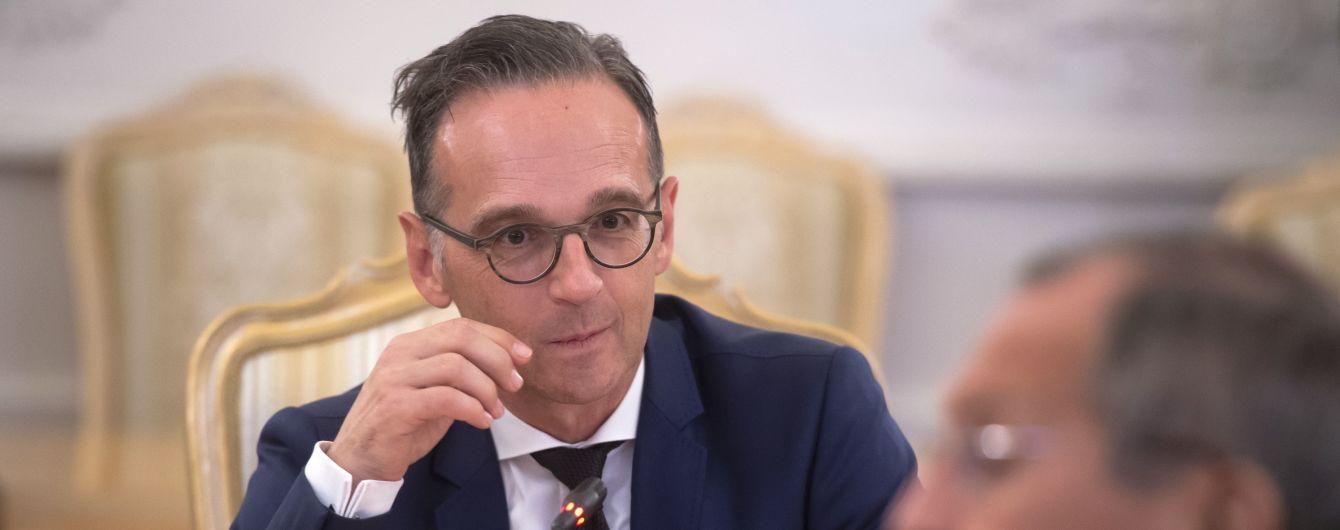 Глава МИД Германии убежден, что перспективы мирного урегулирования на Донбассе могут появиться в сентябре