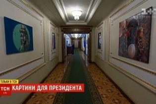 Шаурма, Моника Белуччи и нимфы на Осокорках: офис Зеленского украсили поп-артом