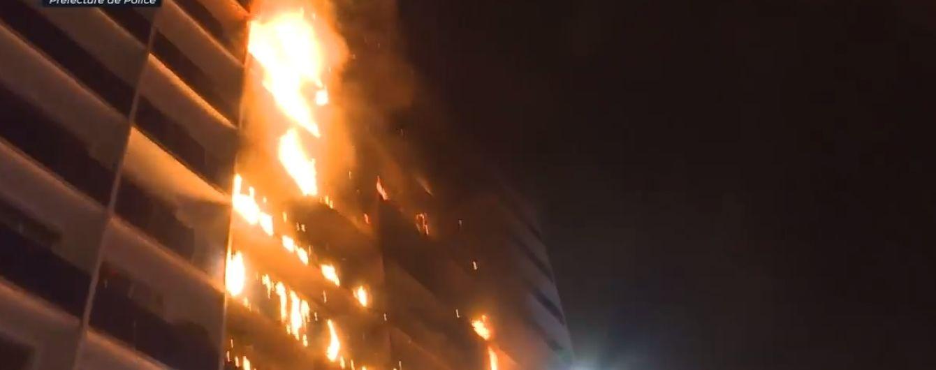 В многоэтажке во Франции произошел пожар: есть погибшие и раненые