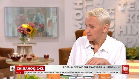"""Чи зобов'язані учні носити шкільну форму - співголова ГО """"Батьки SOS"""" Олена Бондаренко"""