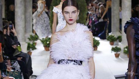 В моде перья: тенденции сезона осень-зима 2019-2020