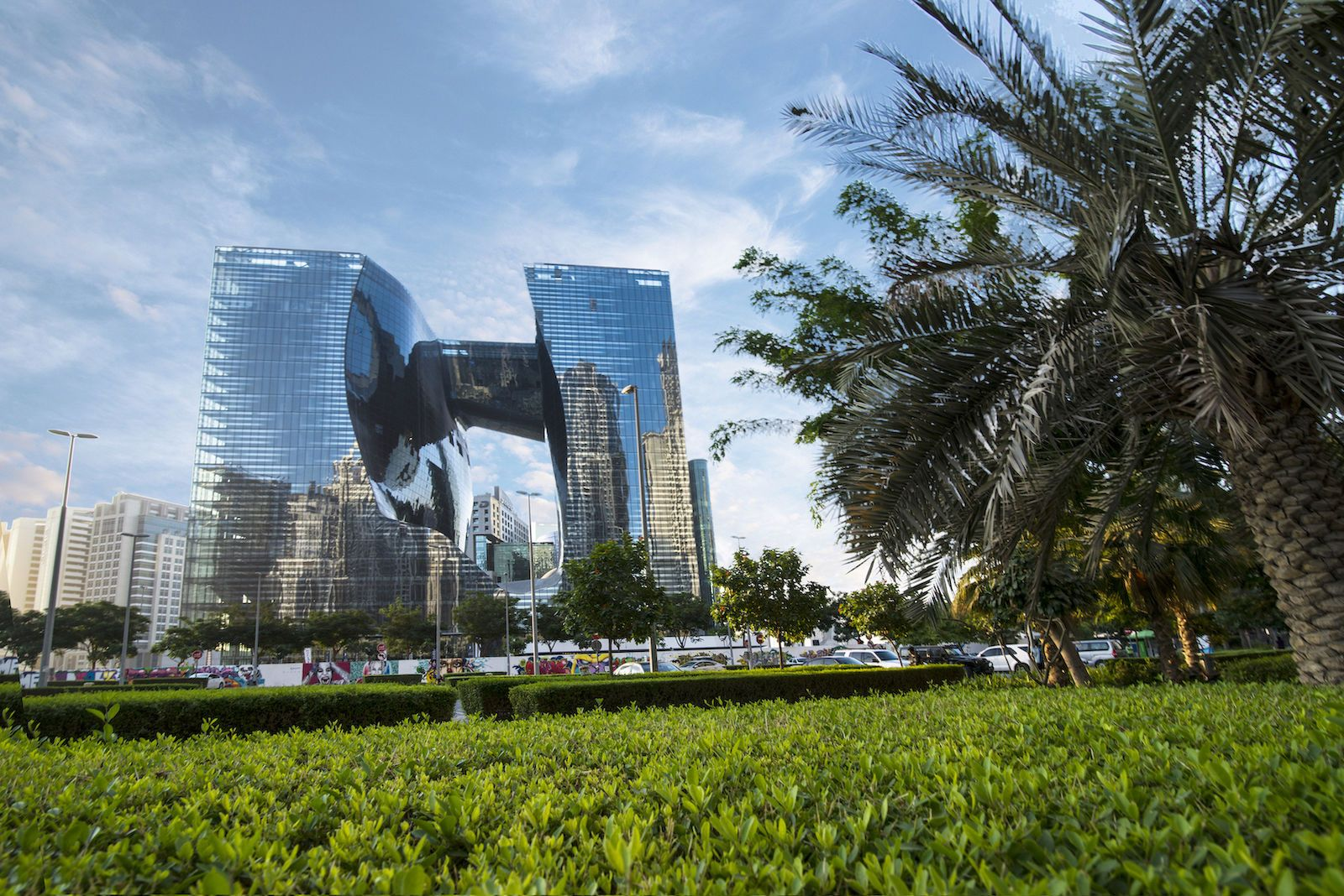 небоскребOpus Дубай
