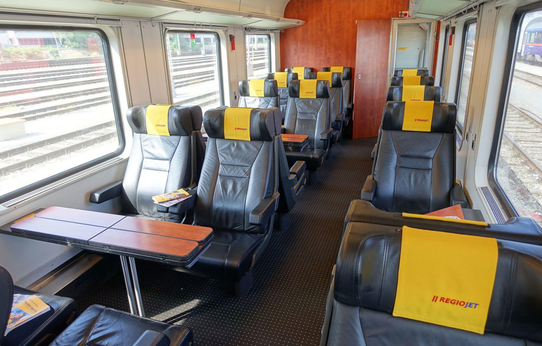 поїзд RegioJet Чехія