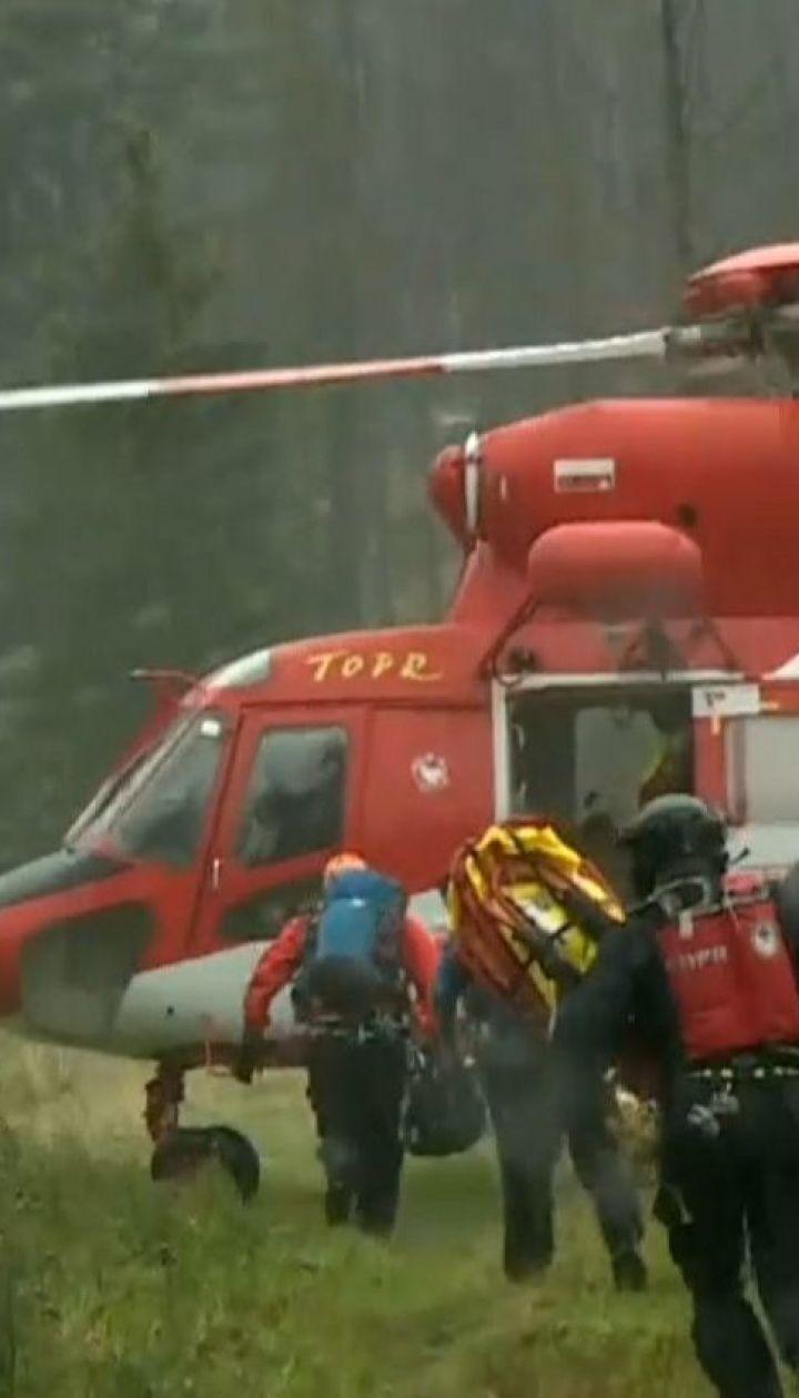 У польських Татрах блискавка влучила у групу туристів, щонайменше троє загинули