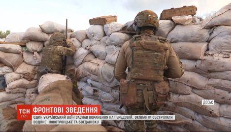 Сутки на фронте: боевики устраивают вооруженные провокации