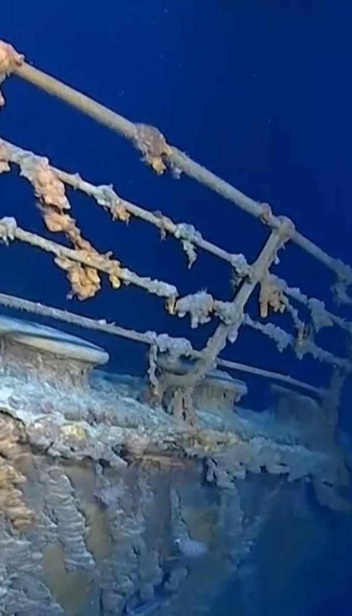 Рештки Титаніка, які лежать на дні океану, активно руйнують корозія та бактерії