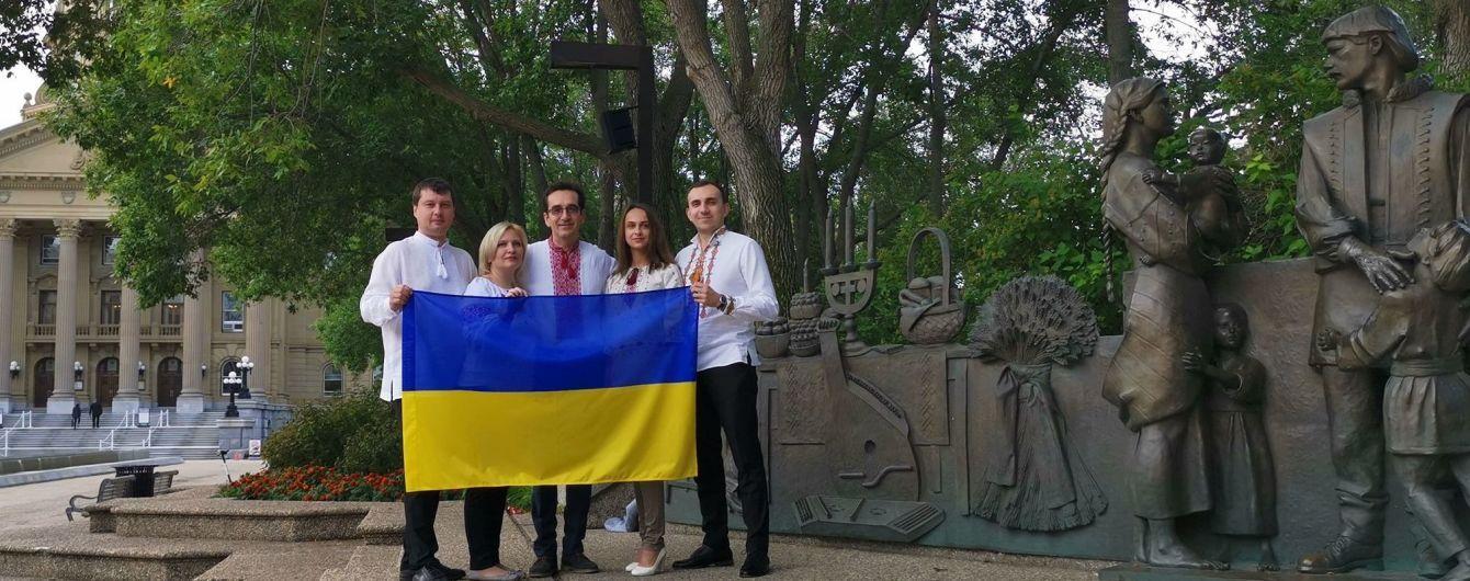 Українці за океаном уже святкують День прапора, а Зеленський закликав до всенародного флешмобу