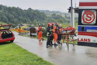 Сокрушительная непогода в польских Татрах. Количество пострадавших возросло почти вдвое